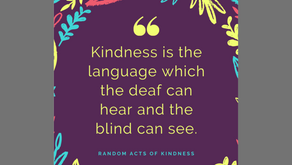 Random Acts of Kindness Day – February 17th
