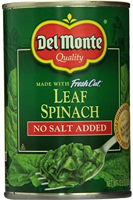 Delmonte Spinach (14.5oz)