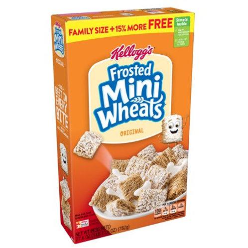 Kelloggs Frosted Mini Wheats (24oz)