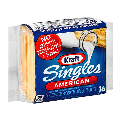 Kraft American Singles (12oz)