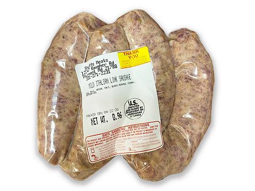 Mild Italian Sausage (1lb Approx)