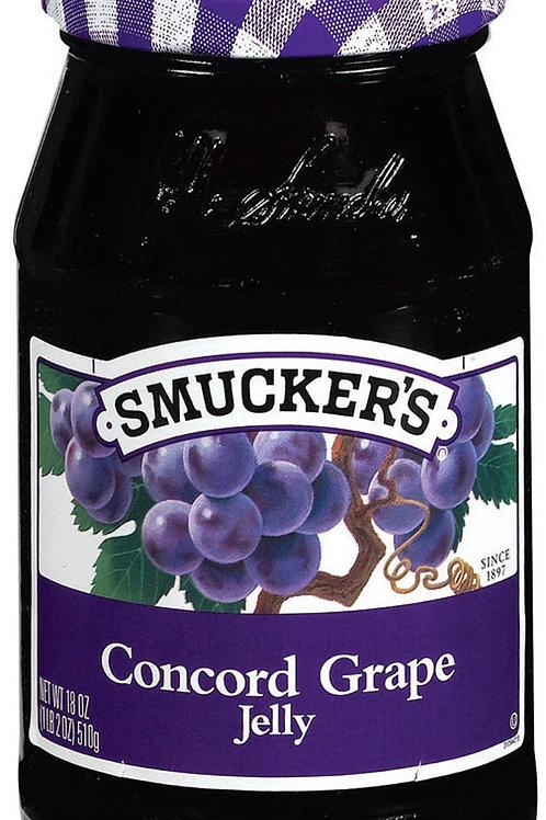 Smuckers Grape Preserves (12oz)