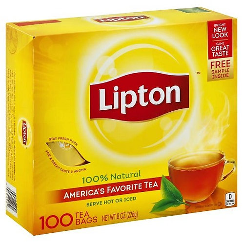 Lipton Tea Bags (100ct)