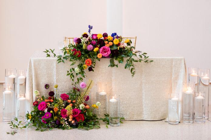Sweet Heart table- bight and joyful