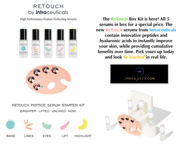 Retouch serums from Intraceuticals