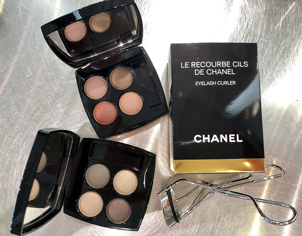 Blurry Eyes Mauve and Grey pallets from Chanel