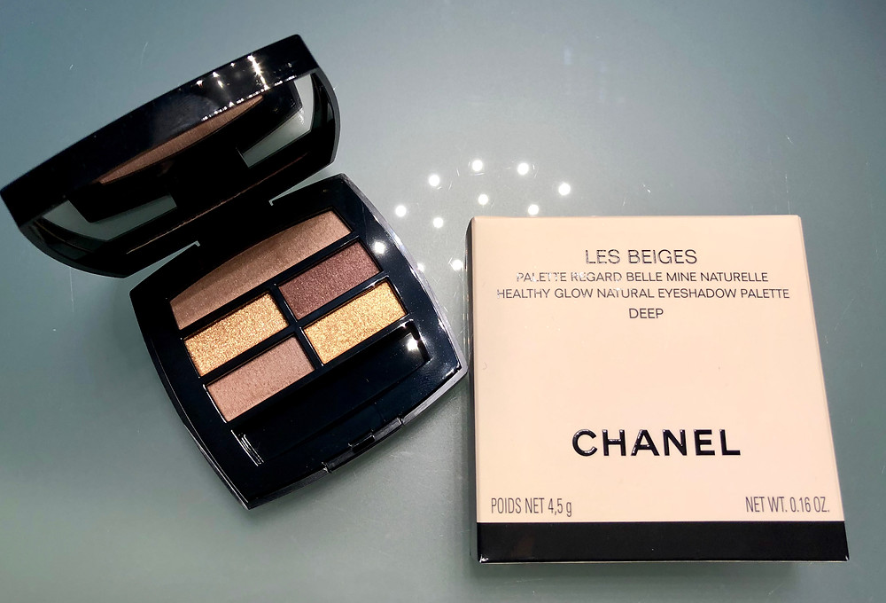 Chanel Les Beiges eyeshadow pallet in Deep