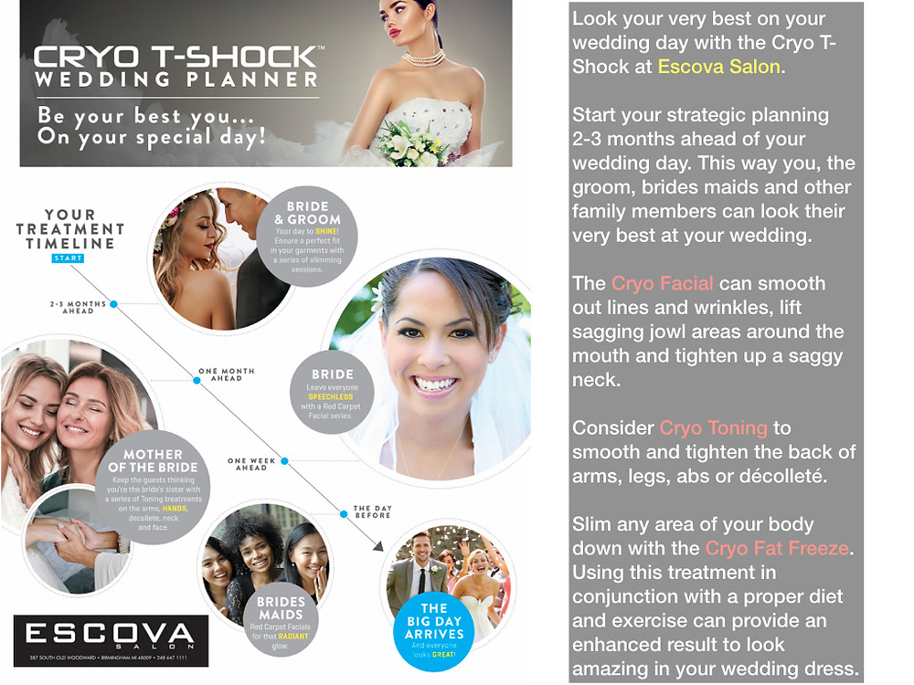 Cryo T-Shock wedding planner