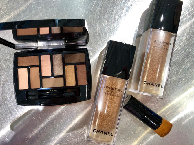 Sheer and natural are the colors for summer from Chanel