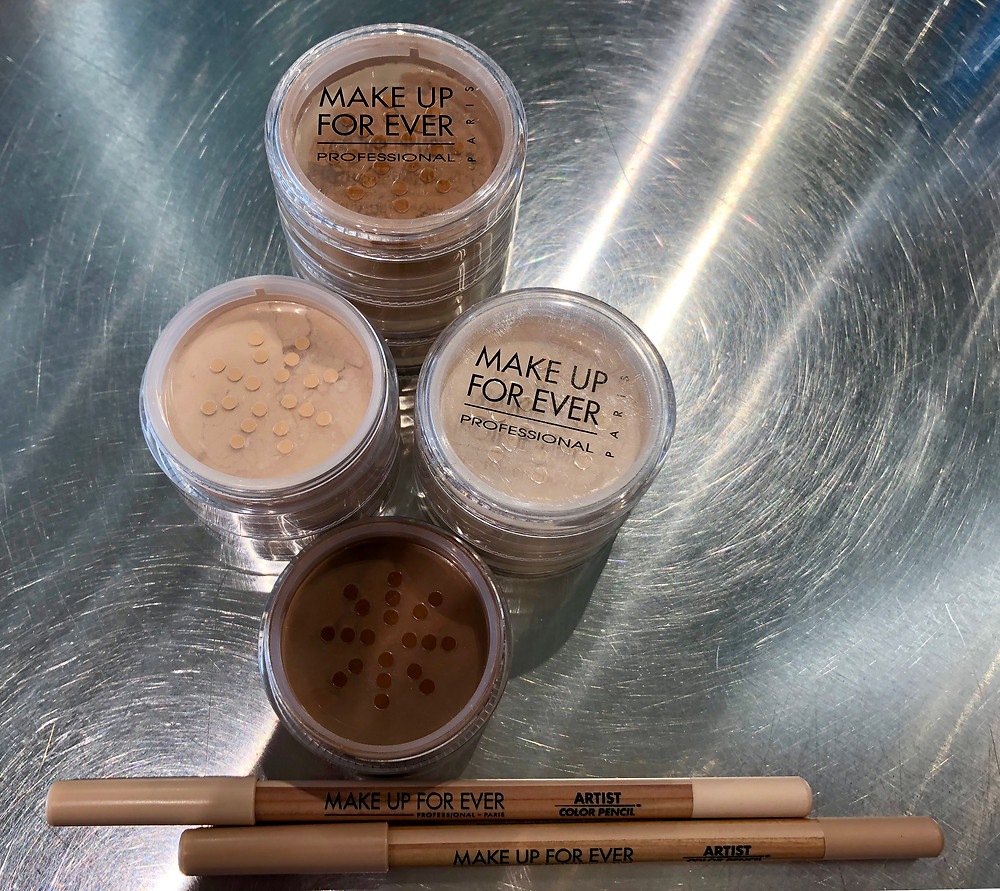 Makeup Forever Loose powders and Artist Pencils