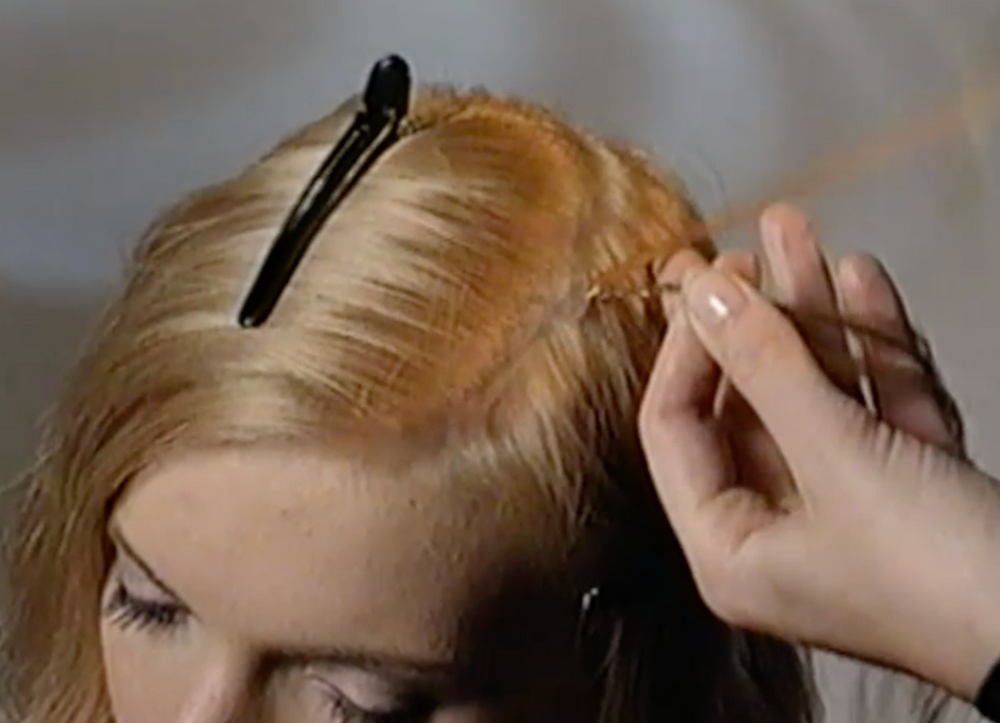 Step 2 - wrap the some of the Prolin around the braid