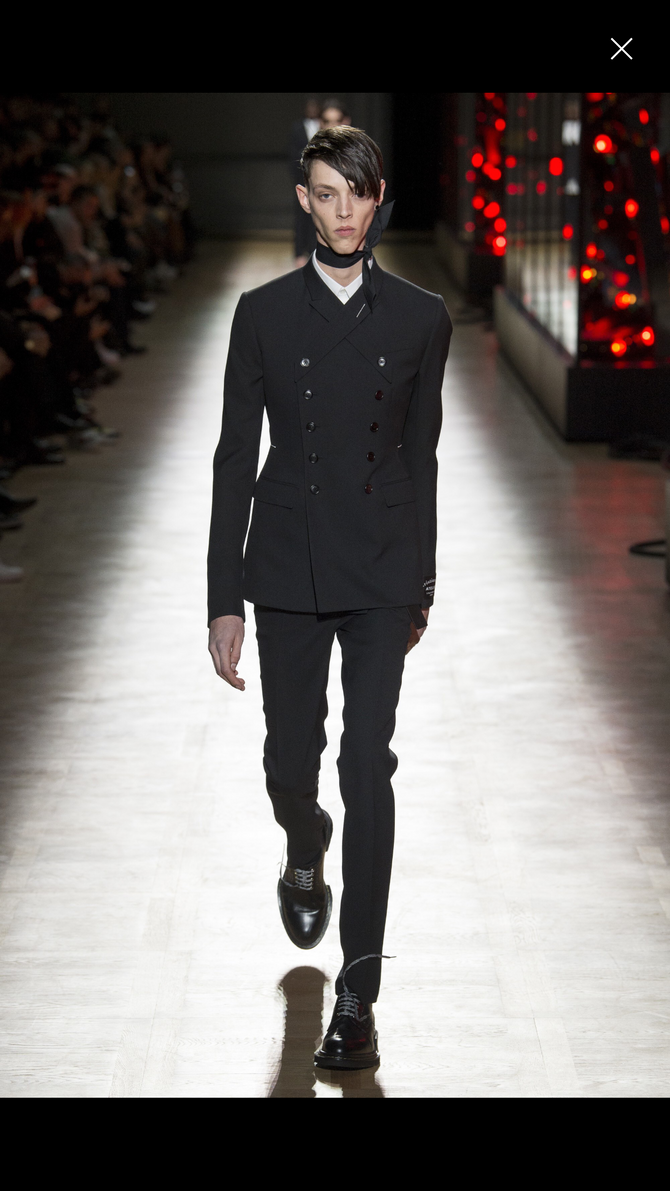 Dior Homme fall 2018 does it again