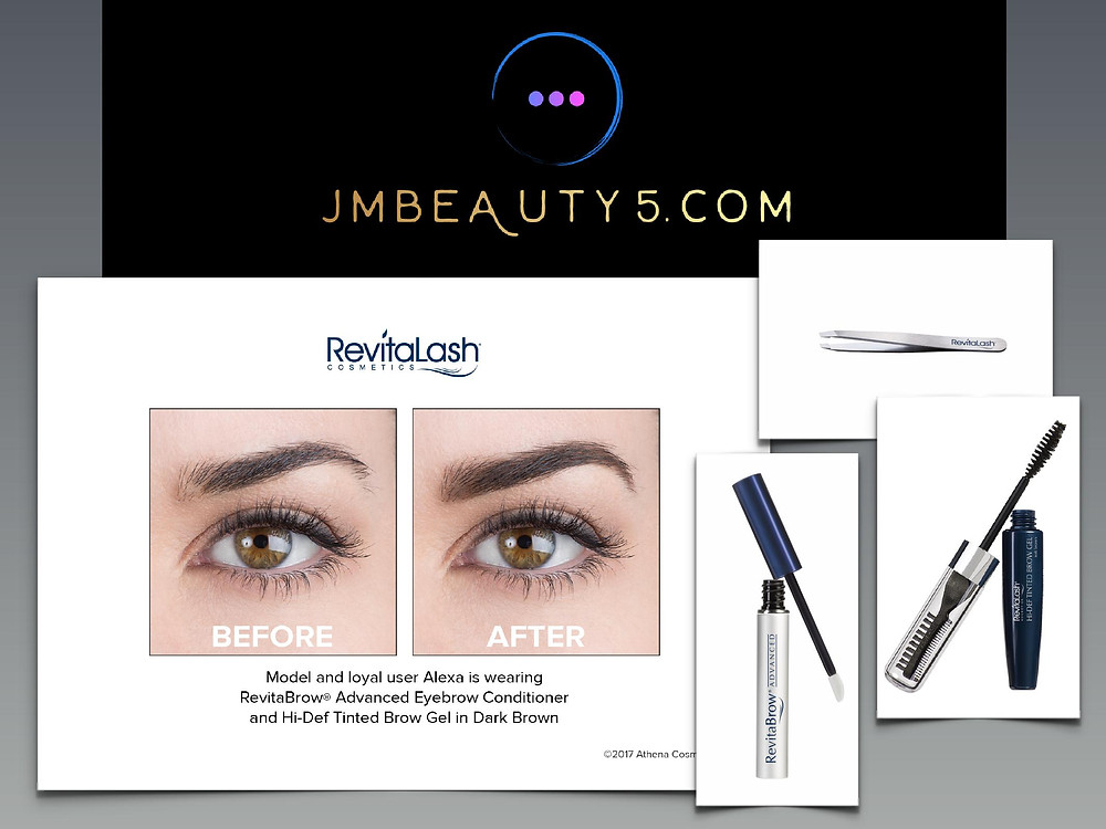 RevitaBrow, Hi-Def Tinted Brow Gel, RevitaLash Precision Tweezers