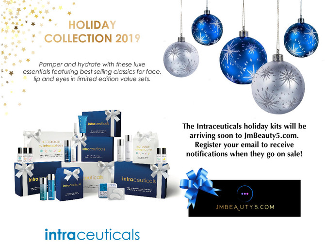 The new Holiday Kits from Intraceuticals and Revitalash Cosmetics will be arriving soon!