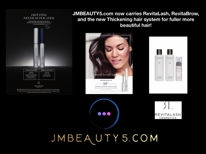 RevitaLash products are now sold at JMBEAUTY5.com!