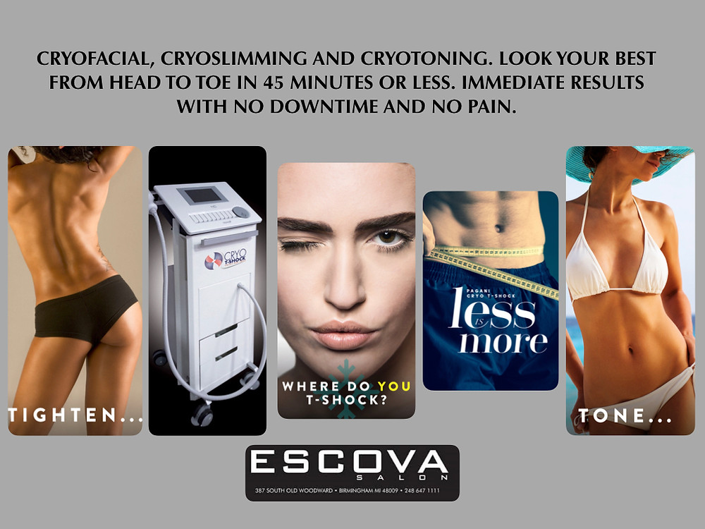 Cryo T-Shock at Escova Salon