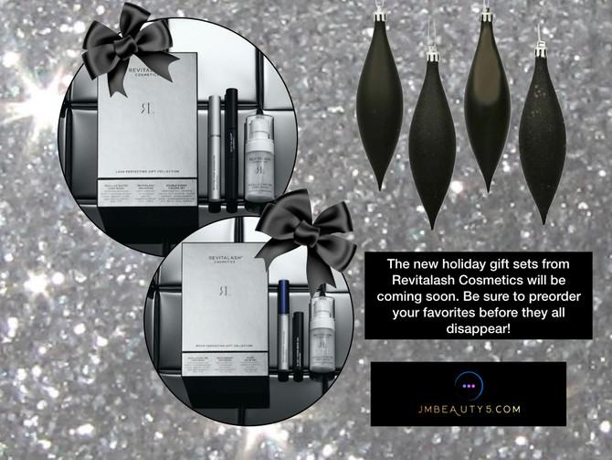 Holiday kits from Revitalash Cosmetics coming soon!