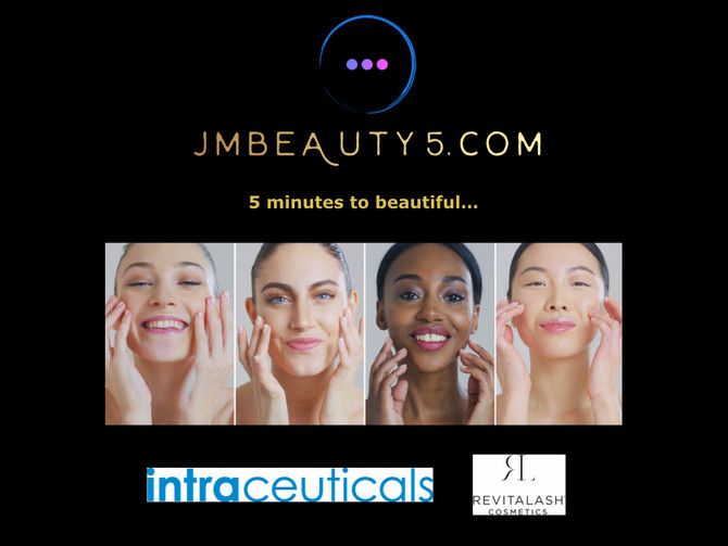 5 minutes to beautiful...