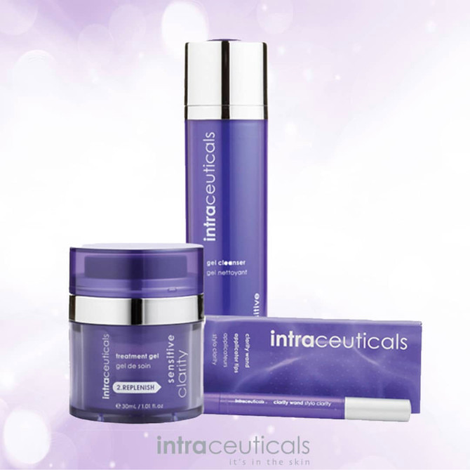 Stressed over acne or congested skin issues? Then Clarity from Intraceuticals can help