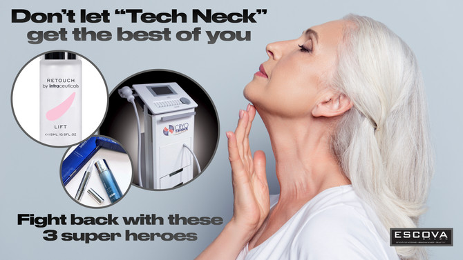 "Don't let ""Tech Neck"" get the best of you"