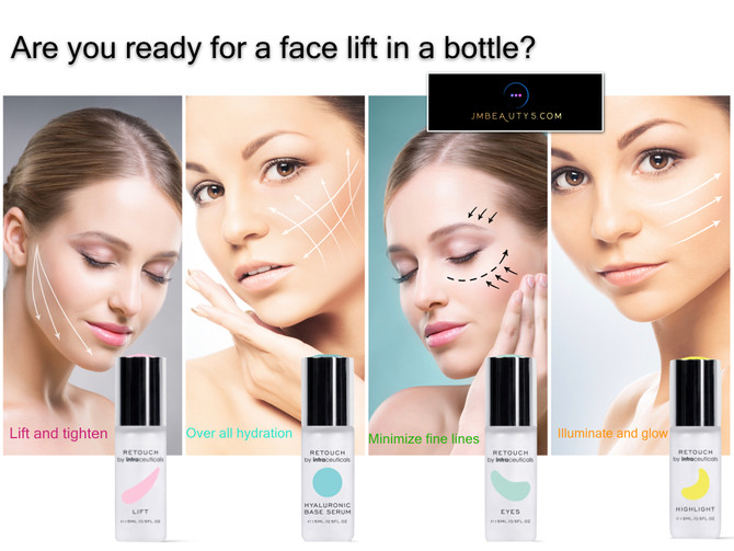 Get a face lift in a bottle