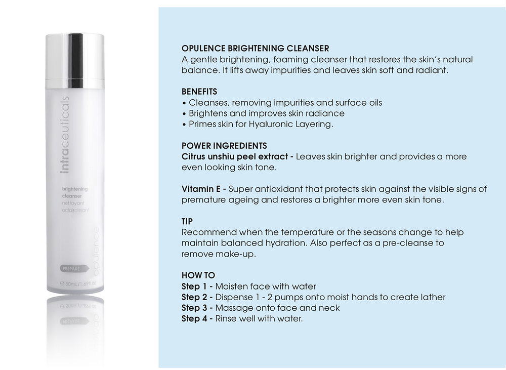 Opulence Brightening Cleanser