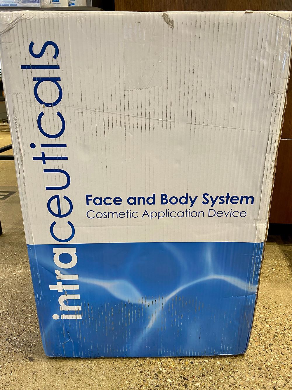 My new Intraceuticals oxygen machine