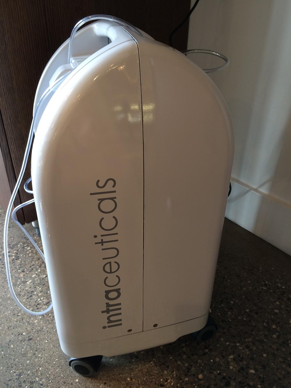 My 1st Intraceuticals oxygen machine