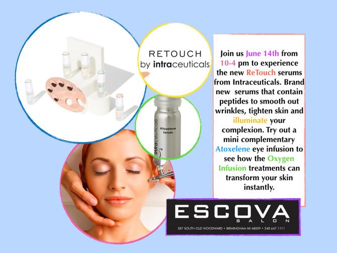 June 14th the ReTouch event at Escova Salon!