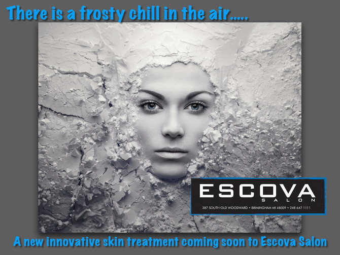 Coming soon...a new innovative skin treatment