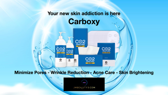 Your new skin addiction is here...Carboxy!