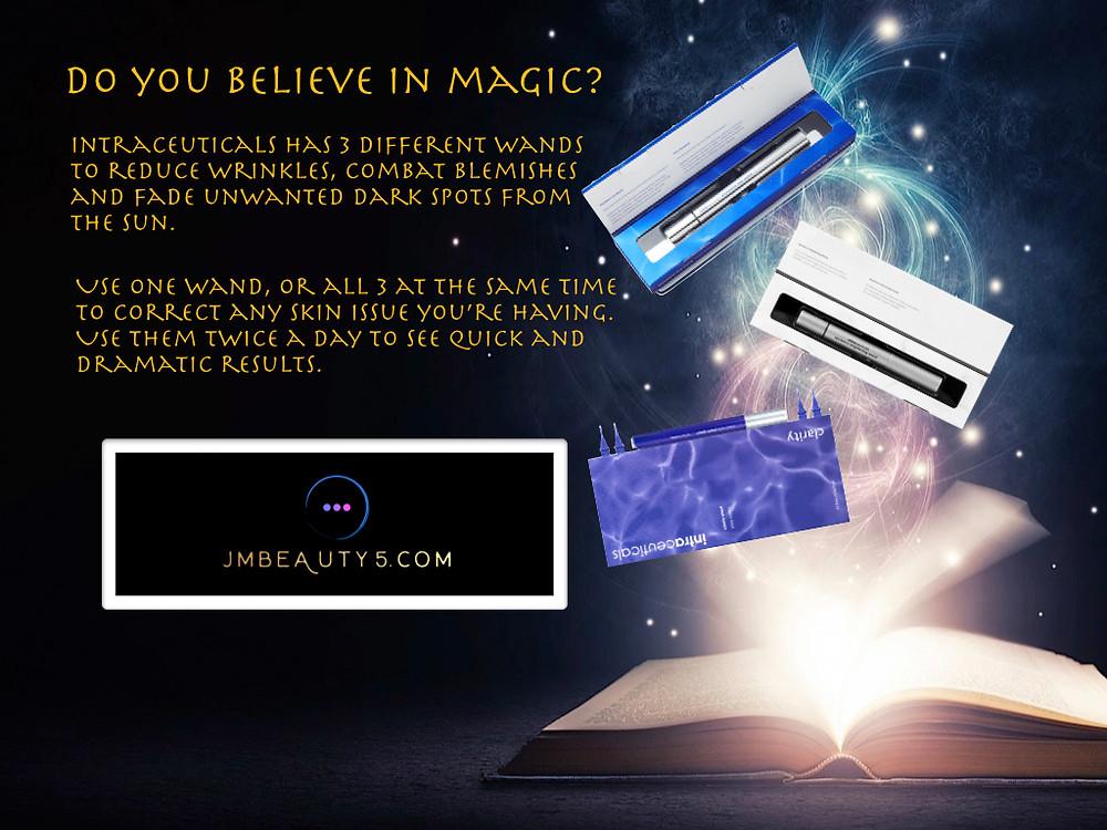 Intraceuticals magic wands