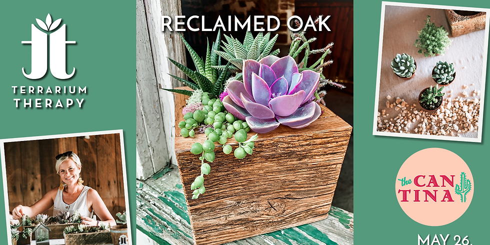 In-Person Workshop - Reclaimed Oak Barnwood Box at The Cantina York