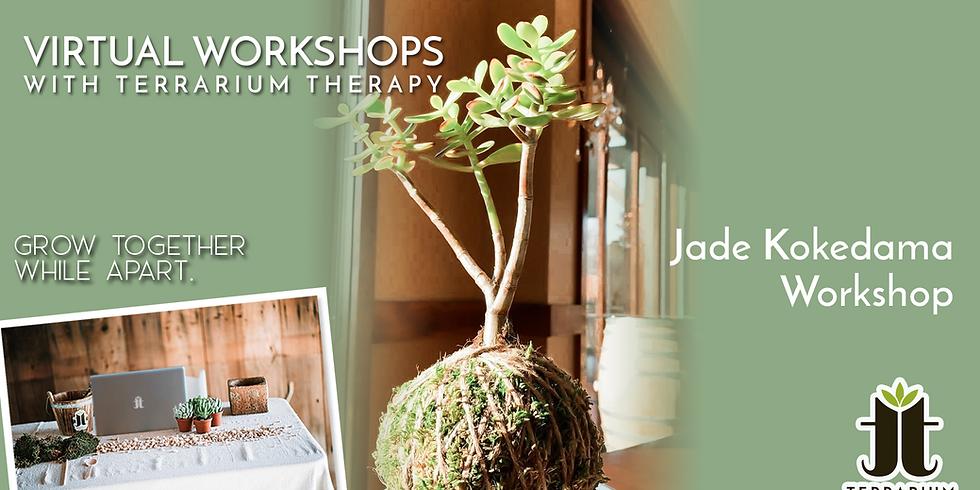 Public Virtual Workshop - Jade Kokedama
