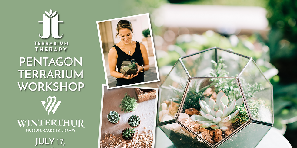 In-Person Pentagon Terrarium Workshop at Winterthur Museum's First-Annual Artisan Market (1)
