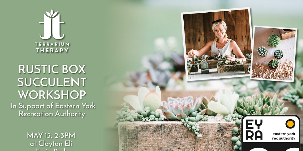 In-Person Rustic Box Workshop at Eastern York Rec Authority