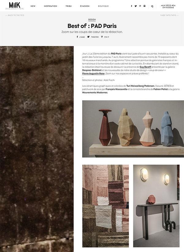 PAD Paris | MilK decoration online_03 a