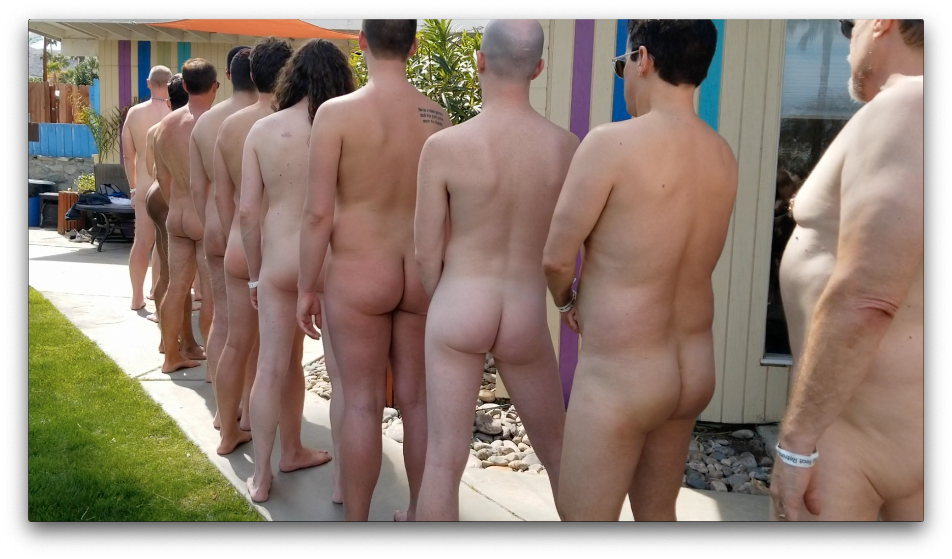 Naughty Boys Lined Up