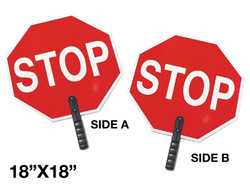"""18"""" STOP SIGN WITH HANDLE"""