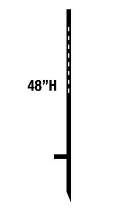 "48"" SIGN STAKE"