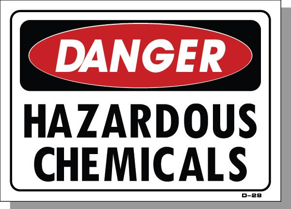 DANGER-HAZARDOUS CHEMICALS