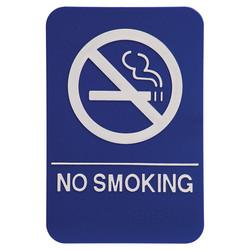 """6""""X9"""" NO SMOKING"""