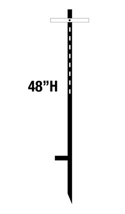 "48"" T-STAKE"