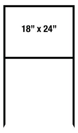 "18""x24"" Metal Sign Frame"