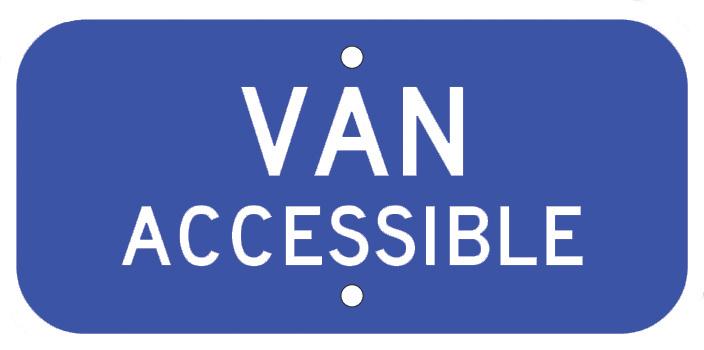 """6""""X12"""" VAN ACCESSIBLE"""