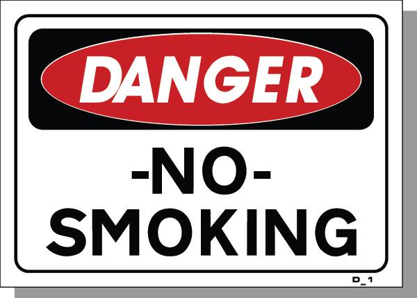 DANGER-NO SMOKING