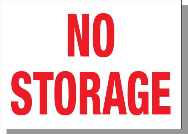 "10""X14"" No Storage"