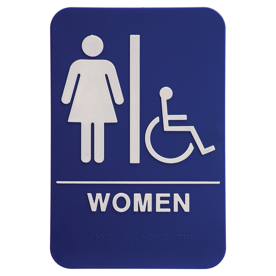 "6""X9"" WOMEN W/ WHEEL CHAIR"