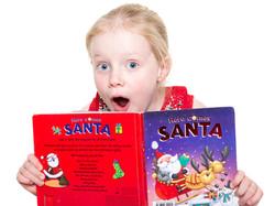 Home-Shoot-GIrl-Children-Santa-Book-Surprise-Philip-Murray-Photography-Dublin