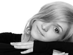 Portrait Woman Actress Headshot Blac